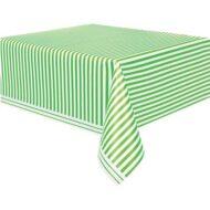 toalha verde riscas